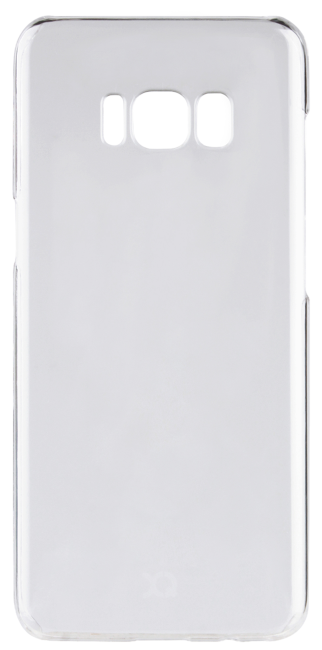 Image of   XQISIT iPlate Glossy til Samsung Galaxy S8 Transparent