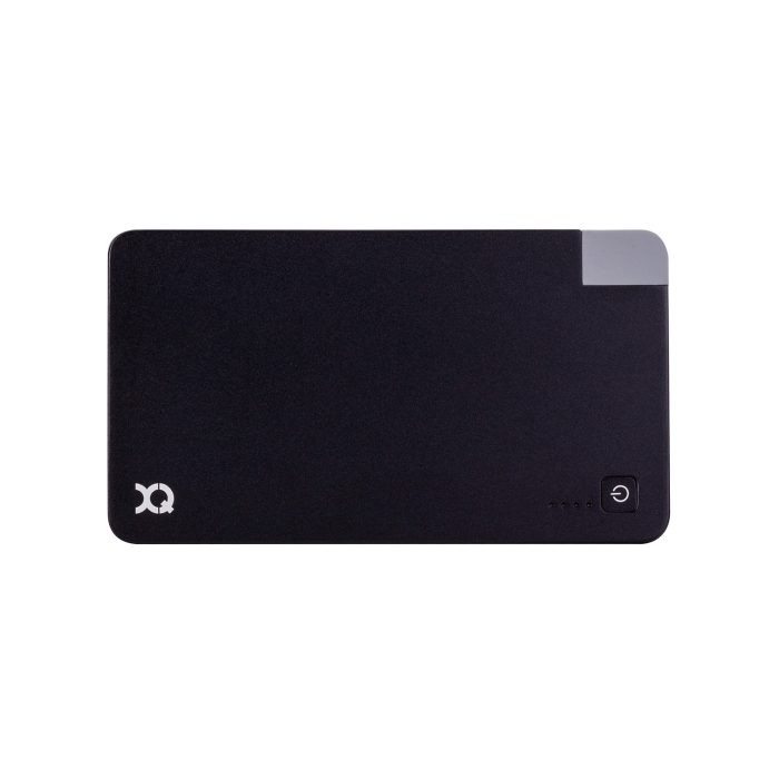 Image of   xqisit PowerBank Lightning/Micro USB 3000 mAh schwarz