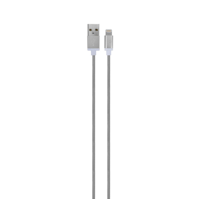 Billede af XQISIT Premium Charge & Sync Lightn.silver colored silver colored
