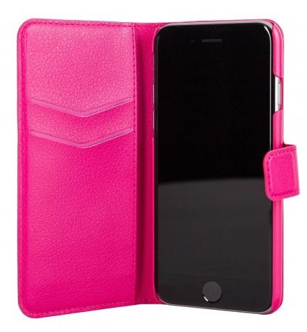 Billede af Xqisit slim wallet cover til iPhone 6/6S pink