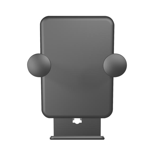Billede af Zens Wireless car charger air vent (USB cable) 5W black