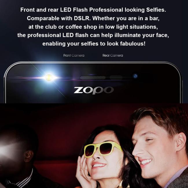 Zopo - Color F2 - Smartphone - 5.5 Inch - White