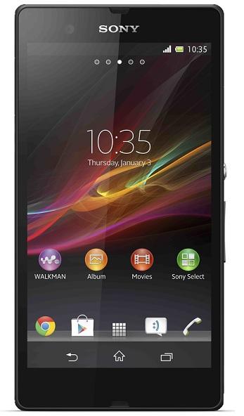 Sony Xperia Z - kategori billede