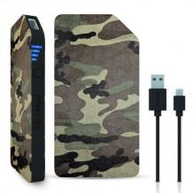 3000 mAh Powerbank / eksternt batteri 1A fra i-Paint, Camo
