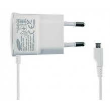 Samsung microUSB rejselader ETA0U10EW, Hvid