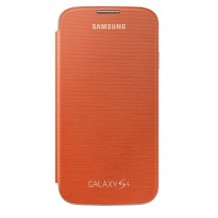 riginalt Samsung Galaxy S4 Flip Cover - Orange