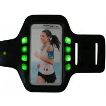 GEAR Sport Armbånd med LED lys Størrelse Large