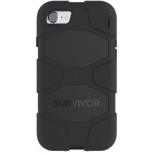 Griffin iPhone 7 cover Survivor All-Terrain, Sort