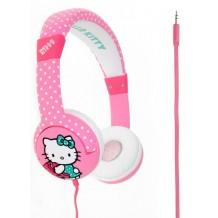 Hello Kitty Hovedtelefon On-Ear Junior Rosa til børn fra 7 år
