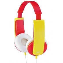Hovedtelefoner til børn over 4 år JVC HA-KD5-PE Kids headset, Rød