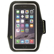 """iPhone 6 (4.7"""") Armbånd, Griffin Trainer Sport Armband, Sort"""