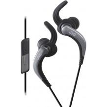 JVC Sport HA-ETR40-B vandafvisende høretelefoner med mikrofon Sort