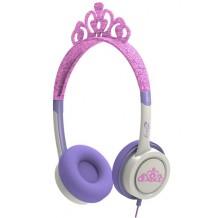 iFrogz prinsesse hovedtelefoner med begrænset lyd til børn, Pink Tiara