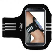 """Armbånd Puro universal til smartphones op til 5.1"""" - Sort"""