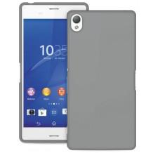 Sony Xperia Z3+ (Plus) Cover, Puro Ultra Slim 0.3, transparent, sort
