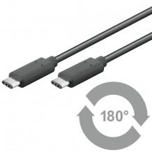 USB- til USB-C datakabel på 1 meter