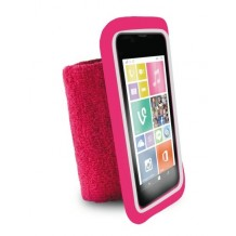 "Puro Universal Running Wristbands til telefoner op til 4.3"" Pink"
