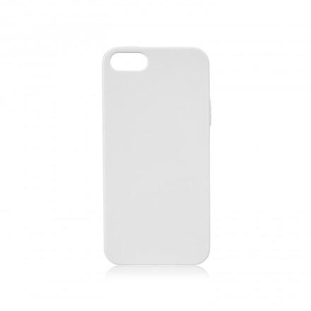 Xqisit Flex Silikone cover til iPhone 5/5S/SE Hvid
