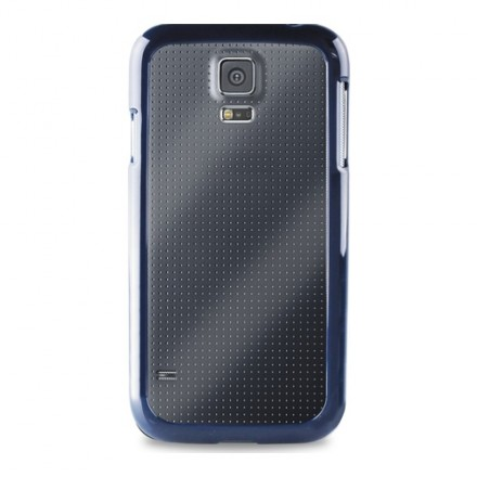 Puro Case Samsung Galaxy S5 Clear Blue