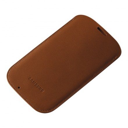 Samsung Galaxy S4 Pouch Case Camel