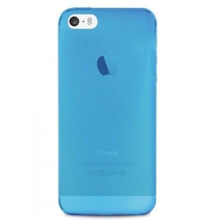 Silikone cover til iPhone 5 / 5S, Puro Ultra Slim 0.3, blå