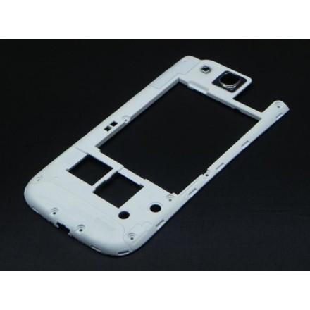 Samsung Galaxy S III 4G Midt Ramme - Hvid