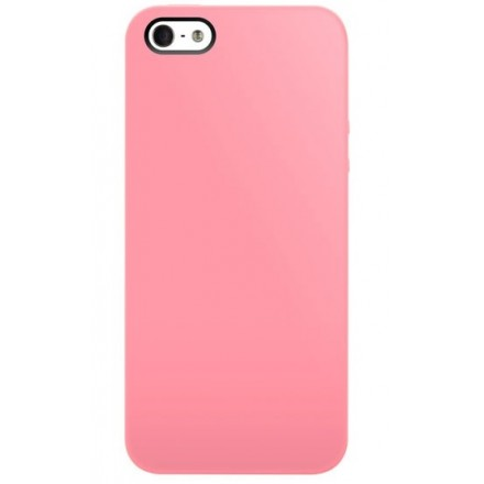 iPhone SE / 5 / 5S cover, SwitchEasy Nude - Baby Pink