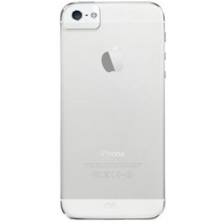 iPhone 5 / 5S / SE cover Case-mate Barely There Gennemsigtigt