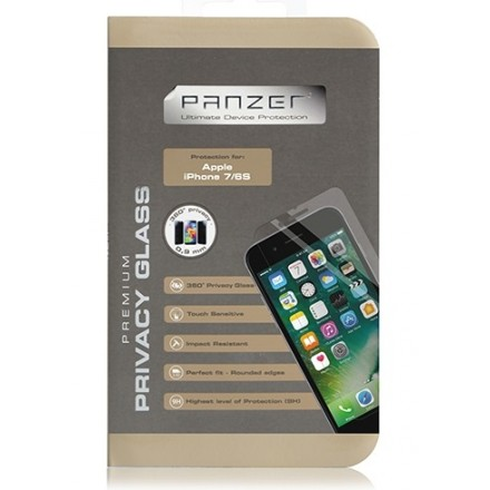 "Panzer premium med privacy til iPhone 7/6S/6 (4,7"")"